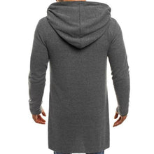 Load image into Gallery viewer, Gentle Fashion Double-Breasted Slim Plain Long Sleeve Men Coat Outerwear - yoyosfashion