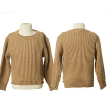 Load image into Gallery viewer, Fashion Round Collar Plain Knit Sweater Family Suit - yoyosfashion