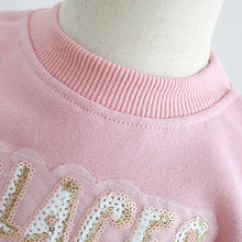 Load image into Gallery viewer, Mom Girl Ice Cream Printed Pink Hoodie - yoyosfashion