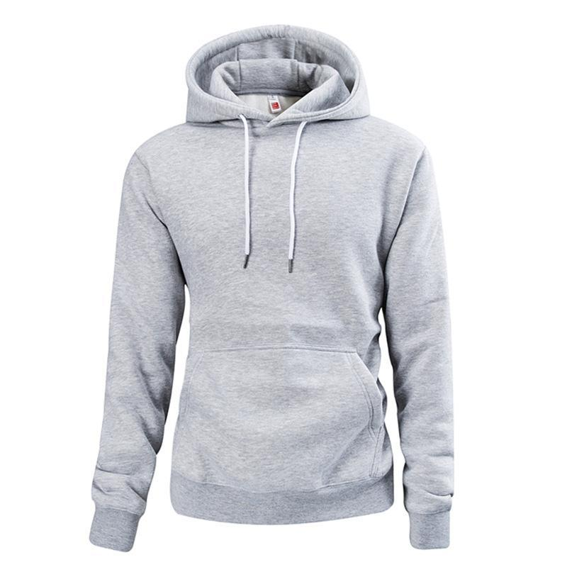 Plain Pullover Hoodie 4 Colors - yoyosfashion