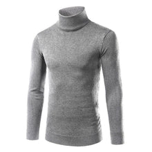 Load image into Gallery viewer, Mens Solid Plain Choker Sweater - yoyosfashion