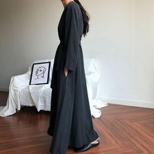 Load image into Gallery viewer, Plain Loose Casual Long Sleeve Dress - yoyosfashion
