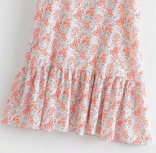 Load image into Gallery viewer, Garden Small Floral Ruffled Tube Top Dress - yoyosfashion