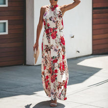 Load image into Gallery viewer, Sexy Print   Sleeveless Dress - yoyosfashion