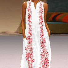 Load image into Gallery viewer, Floral Printed Maxi Casual Dress - yoyosfashion