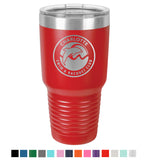 Stainless Steel 30oz Colored Tumbler<br>Official Logo