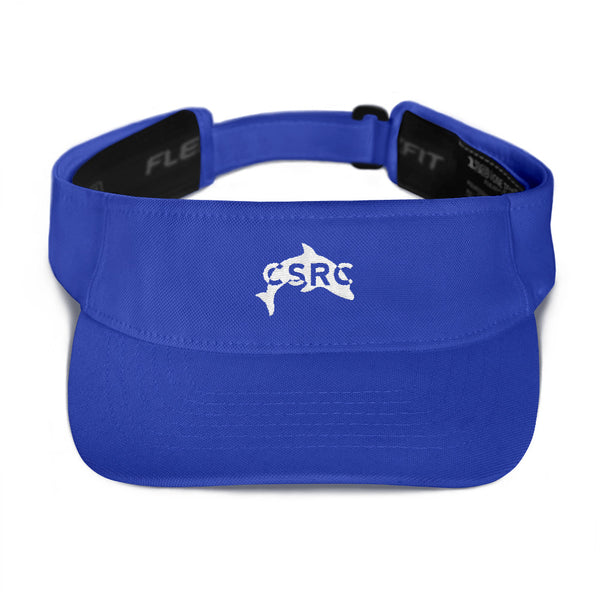 Ladies Tennis Visor - Royal Blue