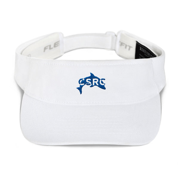 Ladies Tennis Visor - White