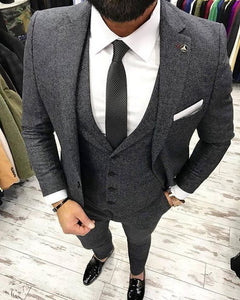 Latest Coat Pant Designs Man Suit Custom Made Slim Fit Blazer with Pants Groom Wedding Tuxedo Mens Suits Set