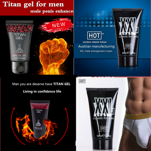 TITAN GEL Penis Male Enhancement Enlargement