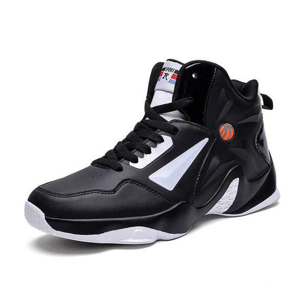 Summer rubber bottom sneaker basketball shoes, youth trend sneakers, stylish lightweight basketball shoes