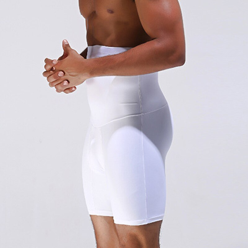 Men Ultra Lift Slimming Body Shaper Tummy Boxer High Waist Brief Panties New