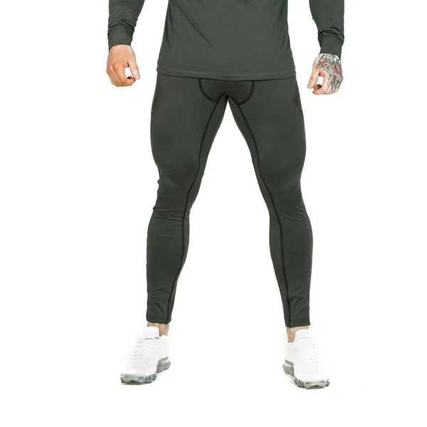 Men Compression Tights Long Pants Trousers Joggers Leggings Trousers Joggers Slim Fit Hombre Skinny Fitness Gyms Training Pant
