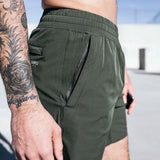 Mens Casual Shorts Run Jogging Sports Feel Cool Quick Dry Light Weight Bodybuilding Sportswear Male Short Pants