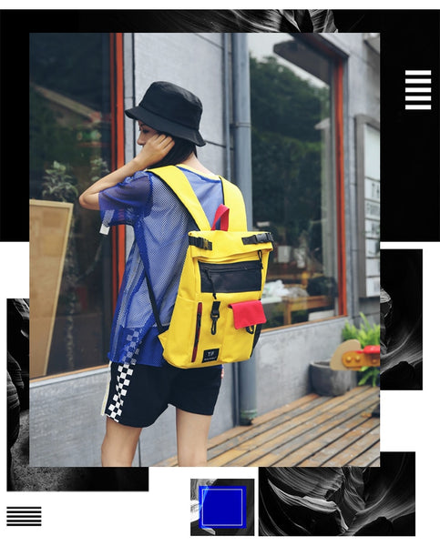 Cool Style Backpack Women Oxford Backpacks For Teenage Girls School Bags Fashion Travel Shoulder Bags Campus Rucksack Mochila
