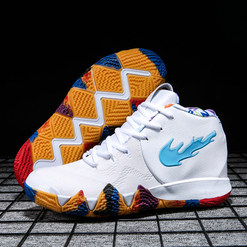 Kyrie 4 Irving 4th Men's Basketball Shoes Sport Sneakers for Men Basketball Culture Boots High Top Jordan Shoes Men Mash Up EP