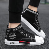 Leader Show Men's Casual Shoes High-top Comfortable Men Fashion Shoes Outdoor Sneakers for Men Leisure Flats Shoes  Zapatillas