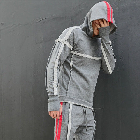 new sporting suit men Suit Men Hoodies Sets Mens Gyms Sportswear Jogger Suit Male Tracksuit sets Hip hop