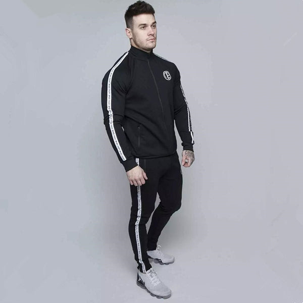 High quality new Autumn brand sporting suit men Suit Men Hoodies Sets Mens Gyms Sportswear Jogger Suit Male Tracksuit sets