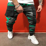 pocket joggers pants men running fitness pants men full length Sport pants streetwear cargo pants men