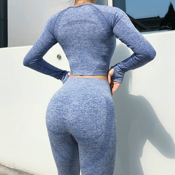GUTA Seamless Gym Clothing Women Yoga Set Fitness suit Workout Sets yoga suit women fitness set women Women's Sportswear suit