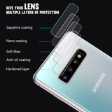 Screen Protector For Samsung Galaxy S10 Plus S10e 360 Full Protection HD Hydrogel 3 in 1 Front Film Back Film Camera Lens Glass