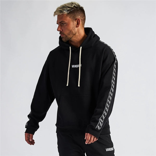Fashion streetwear men's clothing new men's hoodies cotton pullover jogger loose sportswear brand quality hoodie