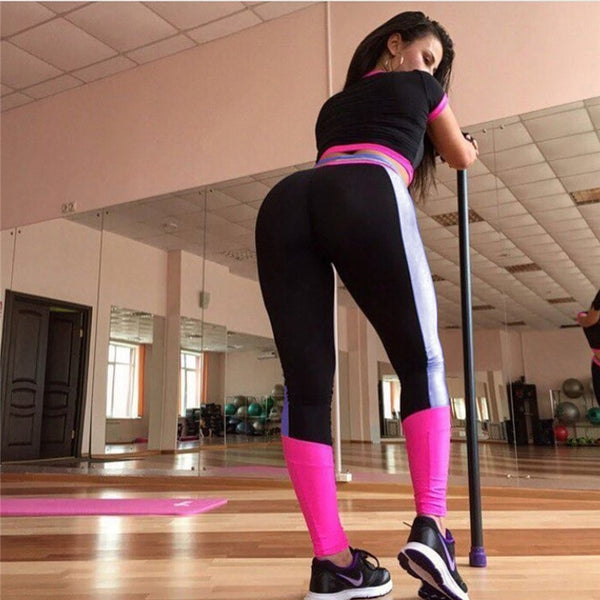 Two Piece Yoga Sets Tracksuit Women Gym Fitness Sportswear Clothing Female Legging Running Jogging Suit Workout Sports Suit