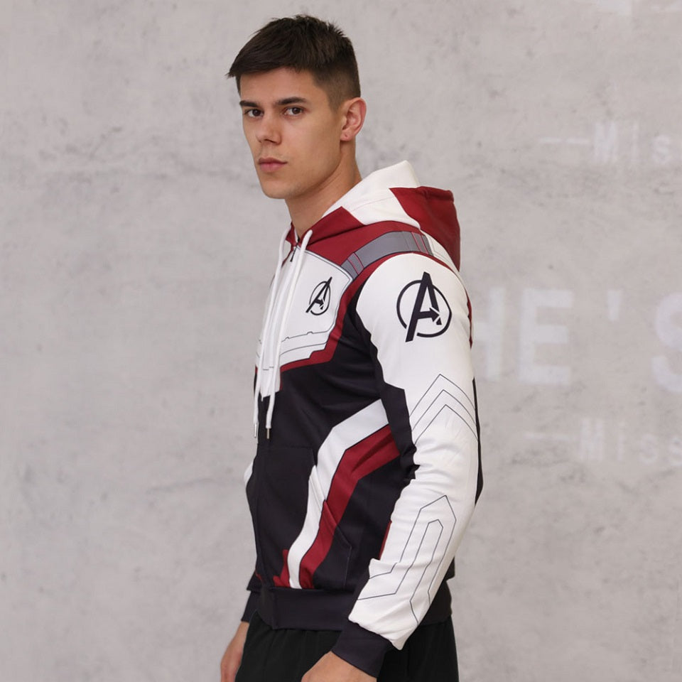 Fall Superhero Hoodies Men Marvel Hooded Joggers Jacket Coat Sportswear Tracksuit Casual Fitness Hoodie Men