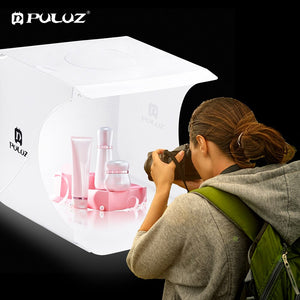 LED Lightbox Light box Mini Photo Studio Box 1100LM Photography Box Light Studio Shooting Tent Box Kit &6 Color Backdrops
