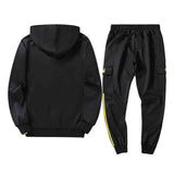 Tracksuit men Autumn  Winter Men Long Sleeve Sweatshirt + Long Pants Casual Hoodies Suits&Sets ropa hombre 9.2