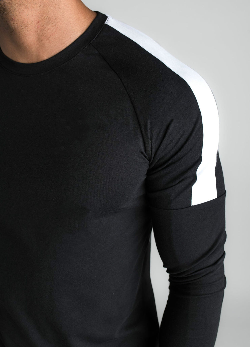 Autumn Men's Long-sleeved T-shirt Fashion Stitching Multi-color Sports Leisure T Shirt Men
