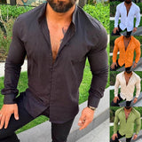 mens shirt cotton / summer fashion for mens