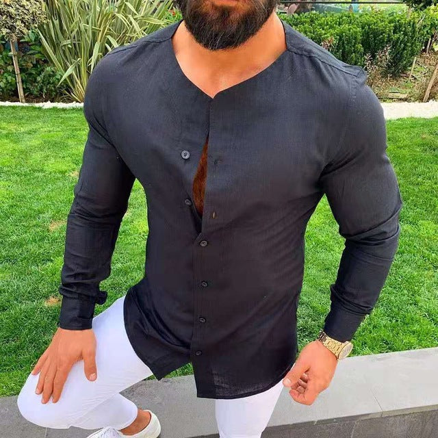 mens shirt long sleeve