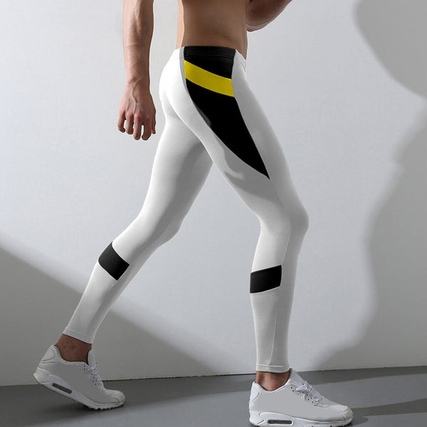Running Tights Sport Leggings Men Compression Pants Quick dry Skinny Running Pants Gym Fitness Training Trousers Yoga Workout