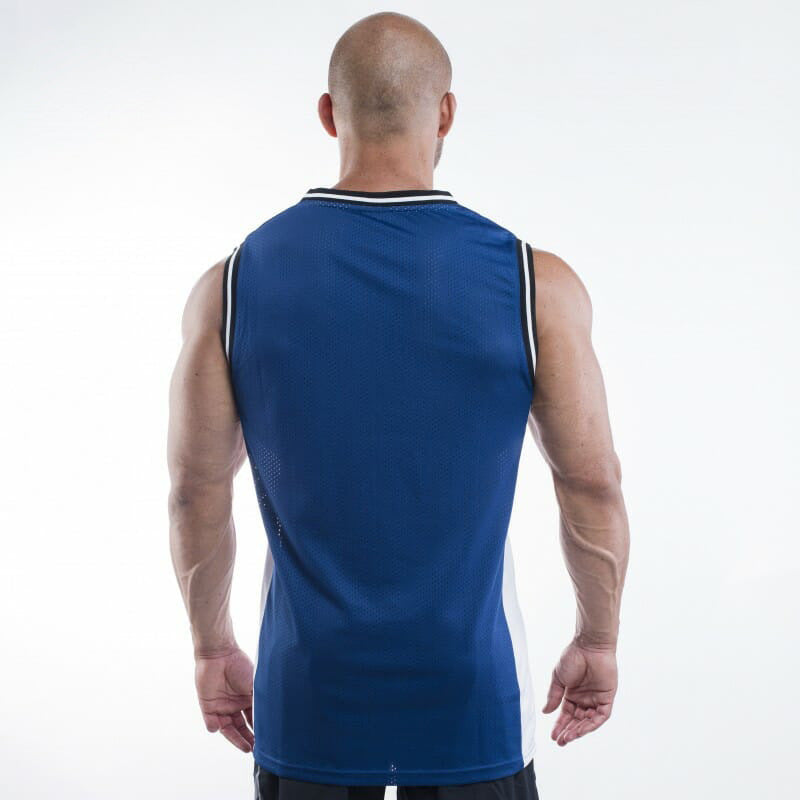 Gym men's sexy  tank top summer new muscle sports mesh breathable sleeveless shirt male jogging fitness bodybuilding vest