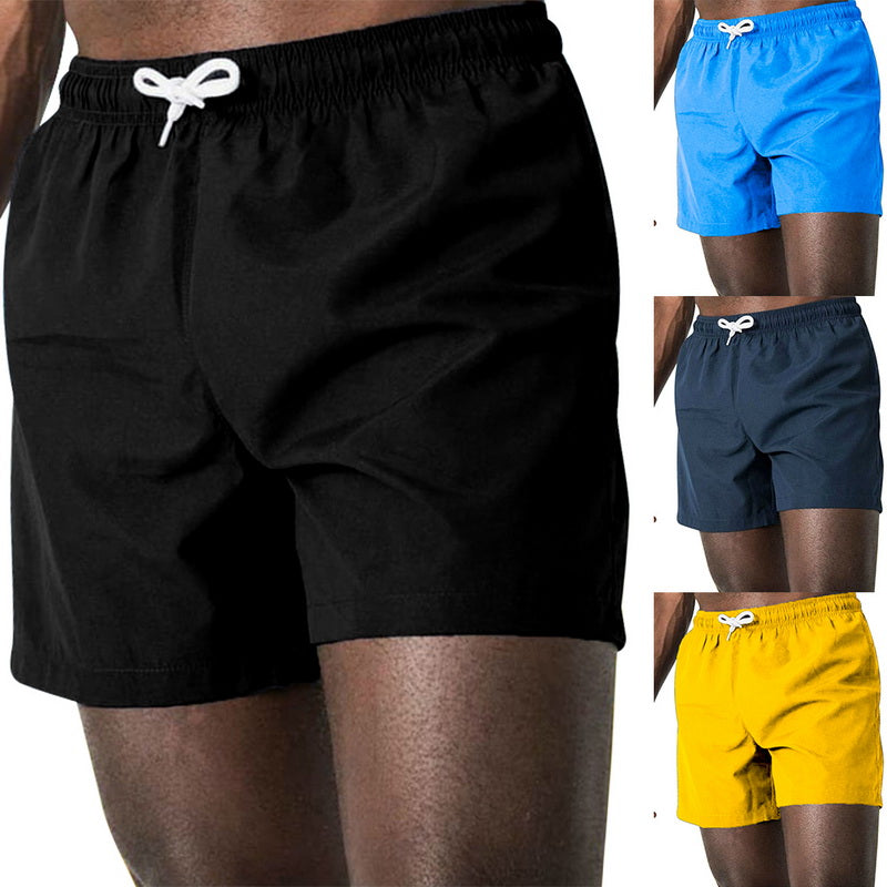 Hot  Newest Summer Casual Shorts Men's Cotton Fashion Style Man Beach Shorts Plus Size 3XL Solid Short Male