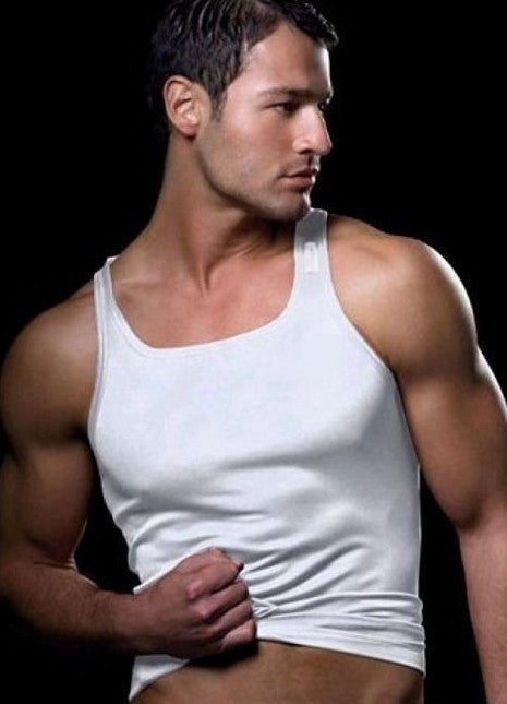 Hot Men Silky Tank Tops Men's Tops With A Hood Male Sexy tees Mens Casual Top Clothes