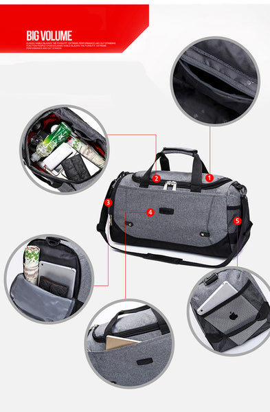 Sports Bag Training Gym Bag Men Woman Fitness Bags Durable Multifunction Handbag Outdoor Sporting Tote For Male