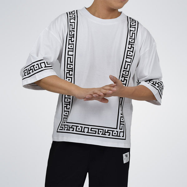 Men t shirt hip hop dance