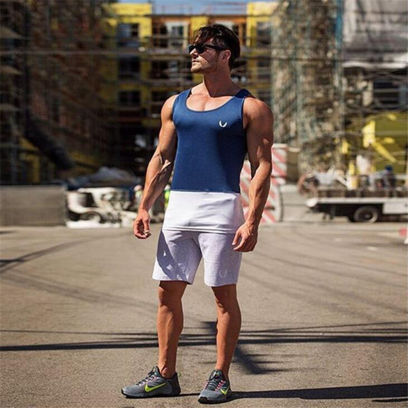 Tank Tops Men Fitness