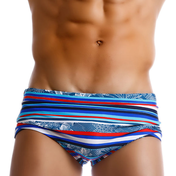 Men Swimwear Swimsuits Swimming Boxer Trunks Surfing Board Shorts