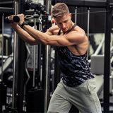 Men's Gyms Tank Top fitness camouflage vests Mens Bodybuilding Stringers