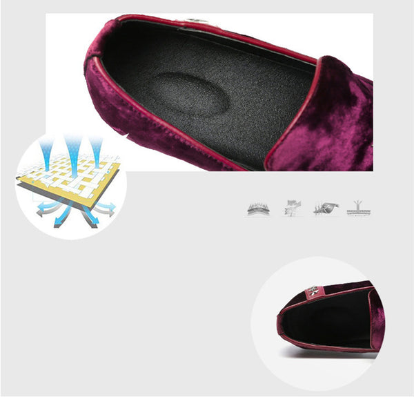 Mens Shoes Casual Loafers Slip On