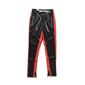 pants hiphop Fashion jogger urban clothing red bottoms FOG jogger justin bieber