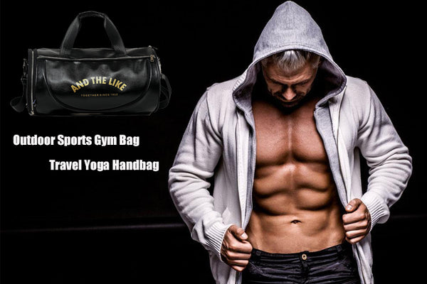 Outdoor Sports Gym Bag Men Women with Shoes Storage Training Fitness Multifunction Shoulder Bags Travel Yoga HandBag