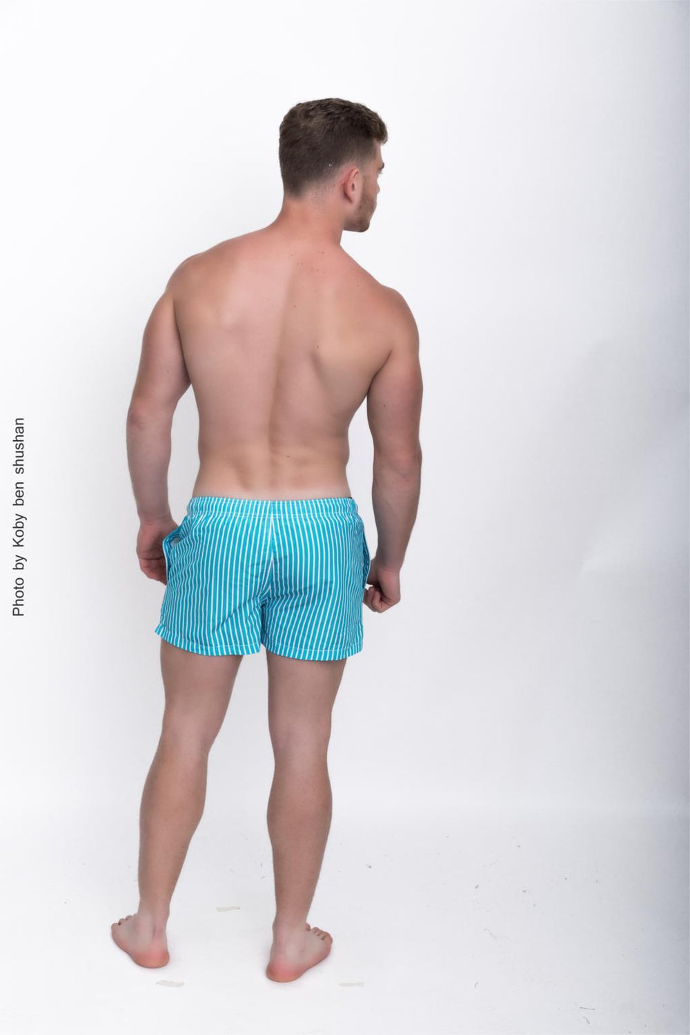 Men Beach Board Surfing Boxer Shorts Trunks Quick Drying