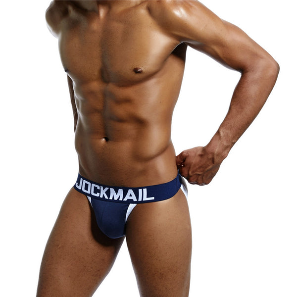Enhancing Men Underwear Jockstrap Enhance Frontal WJ Pad Inner push up cup Enlarge Penis Pouch