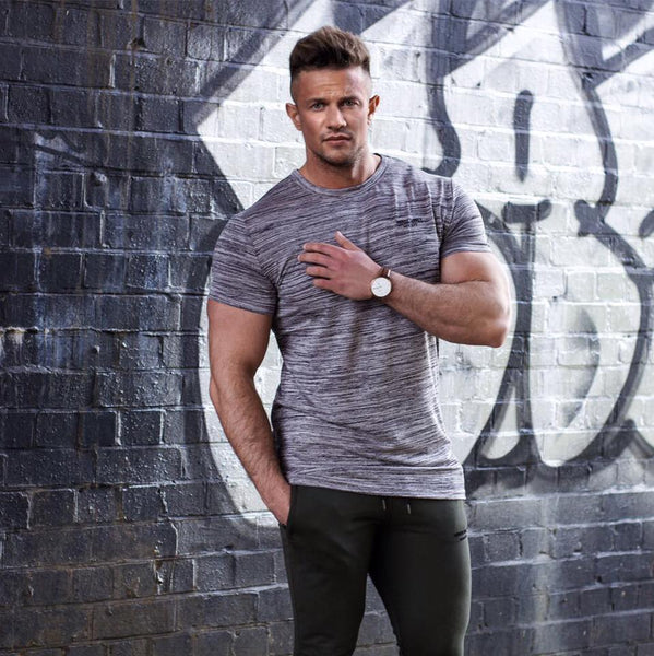 new brand clothing gyms tight t-shirt mens fitness t-shirts homme gyms t shirt men fitness Summer top tees shirts