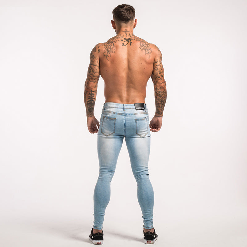 Skinny Jeans For Men  Skinny Jeans Ripped Slim Fit For Guys